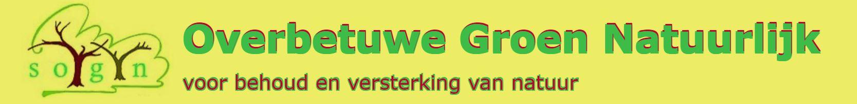 Banner Overbetuwe Groen Natuurlijk
